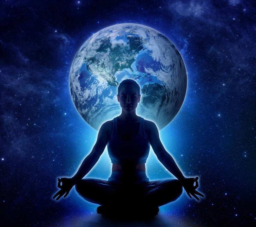 为深沉的冥想吟唱唤醒更高的自我OM唱诵