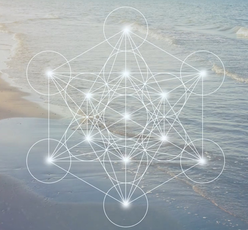 印度长笛音乐+神圣几何学非常宁静的冥想音乐