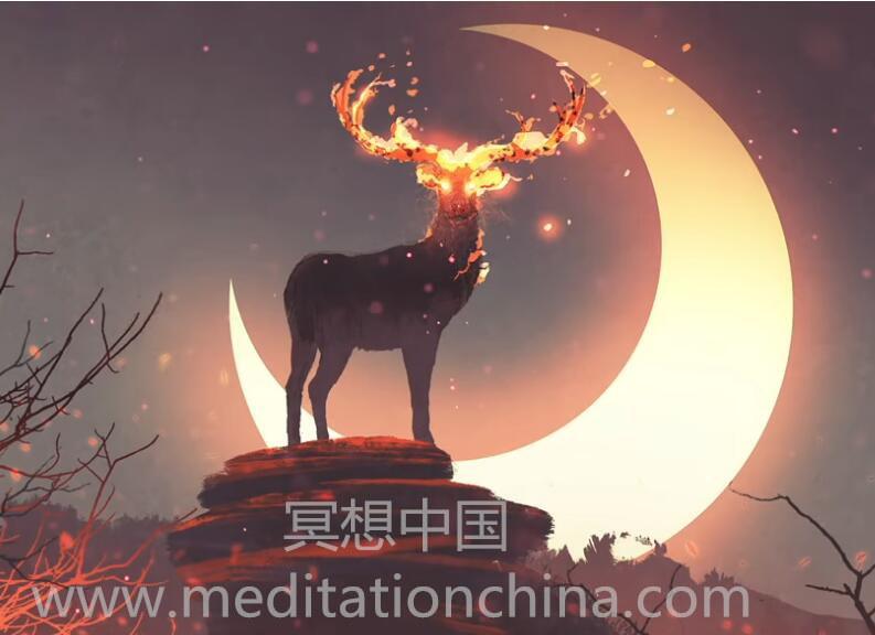 """火、月亮和奇迹""""治疗睡眠音乐""""528Hz视唱频率音乐"""