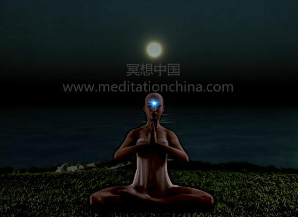 OM超深沉的声音吟诵咒语432赫兹第三眼奇迹冥想音乐