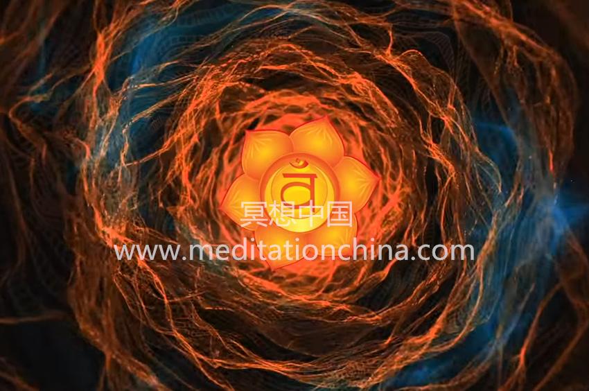 神圣脉轮治疗圣歌平衡情绪和增强创造力种子咒语-金刚冥想