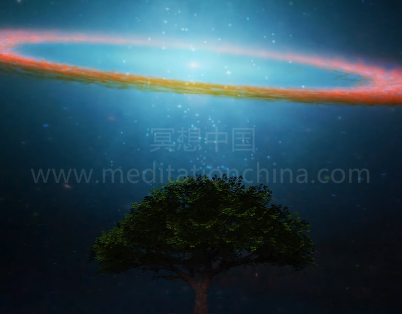 432Hz神秘宇宙花园,提升正能量振动,美丽的木槌冥想曲-冥想中国