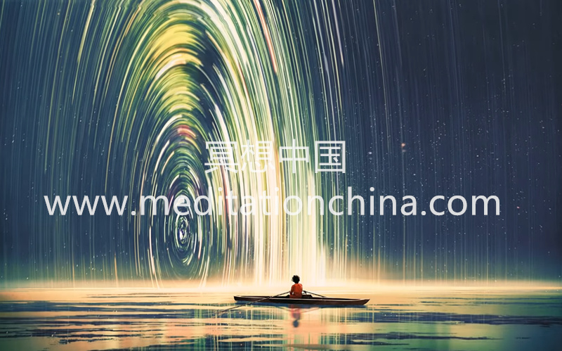 水声念经OM唱诵减压健脑自然咒冥想-冥想中国