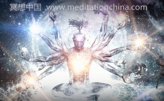 强大的OM唱颂深奥的冥想强大的治疗音乐