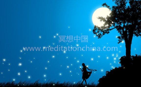 星座冥想音乐:摩羯座满月-月亮浴冥想