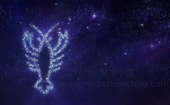 巨蟹座满月冥想,凝视注意力专注,月球能量治疗
