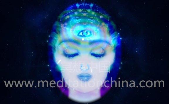 第三眼刺激强大的第三眼冥想ASMR 3D双耳节拍冥想