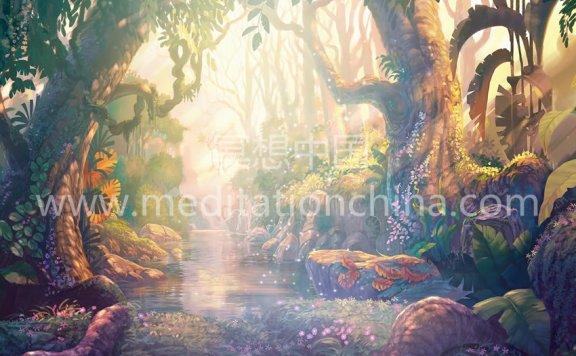 进入一个迷人的森林V2凯尔特音乐@ 432赫兹自然声音神奇森林音乐