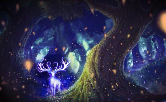 冥想中国:进入一个迷幻的森林辅助睡眠冥想音乐