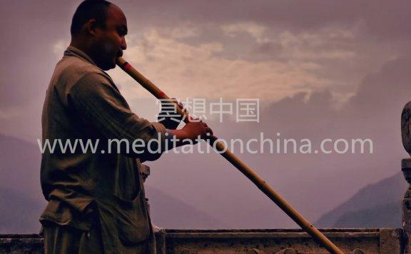 冥想中国:藏箫音乐OM吟诵432Hz念咒冥想音乐
