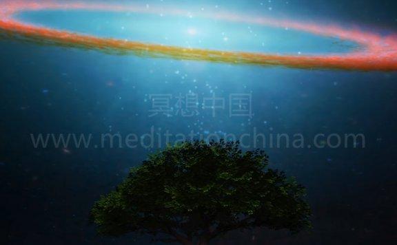 432Hz神秘宇宙花园,提升正能量振动,美丽的木槌冥想曲
