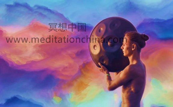 吊鼓+塔拉+长笛音乐神秘瑜伽音乐+雨放松音乐