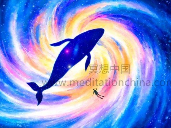 冥想中国:963Hz+285Hz潜入深空,天神频率,疗愈音乐